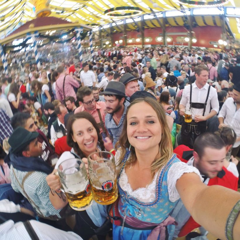 Oktoberfest last year with Stoke. Incredible time!