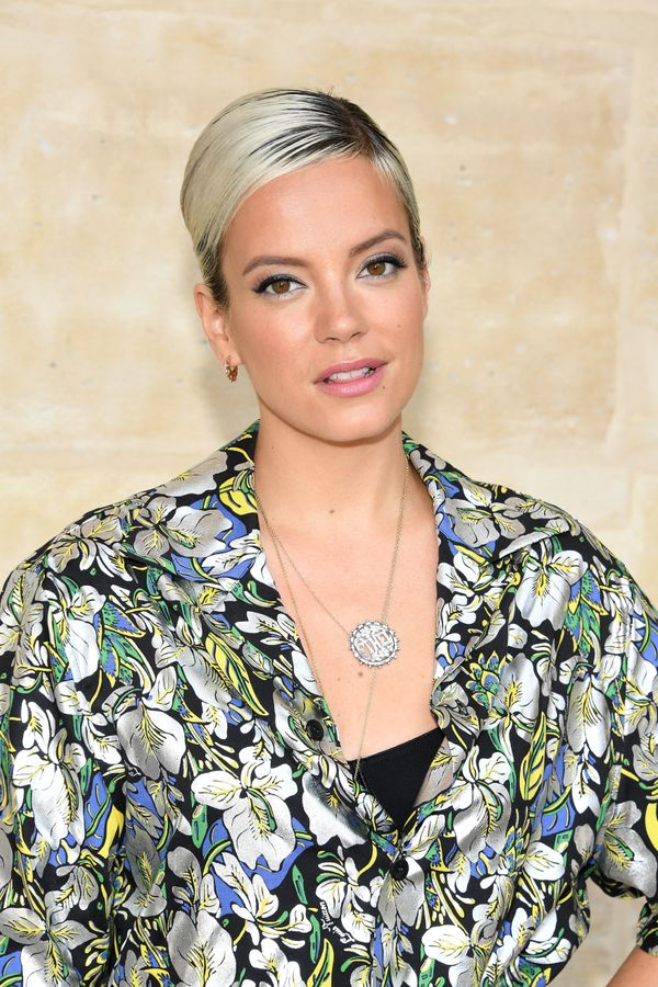 """In 2009, Lily Allen revealed that she was retiring from music with a message on her website. She informed fans that <a href="""""""