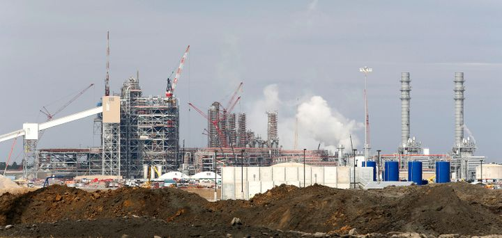 Construction continues on Southern Company's Kemper County power plant near Meridian, Mississippi.