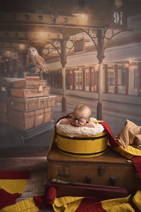 29 Adorable Harry Potter Themed Baby Photos Huffpost