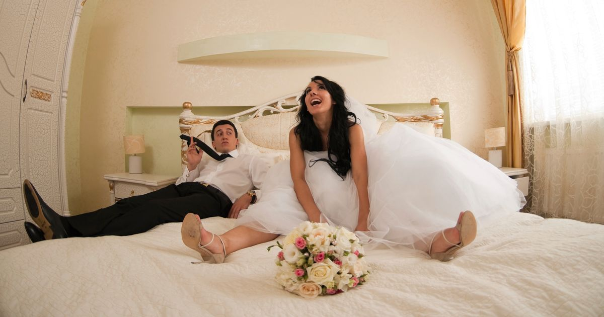 Реальные съемки брачной ночи #3