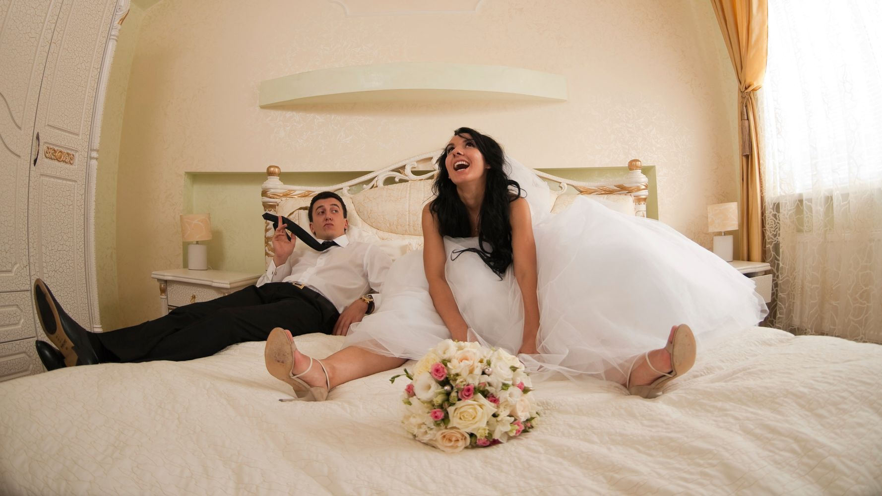 This Is What The Wedding Night Is Actually Like, According