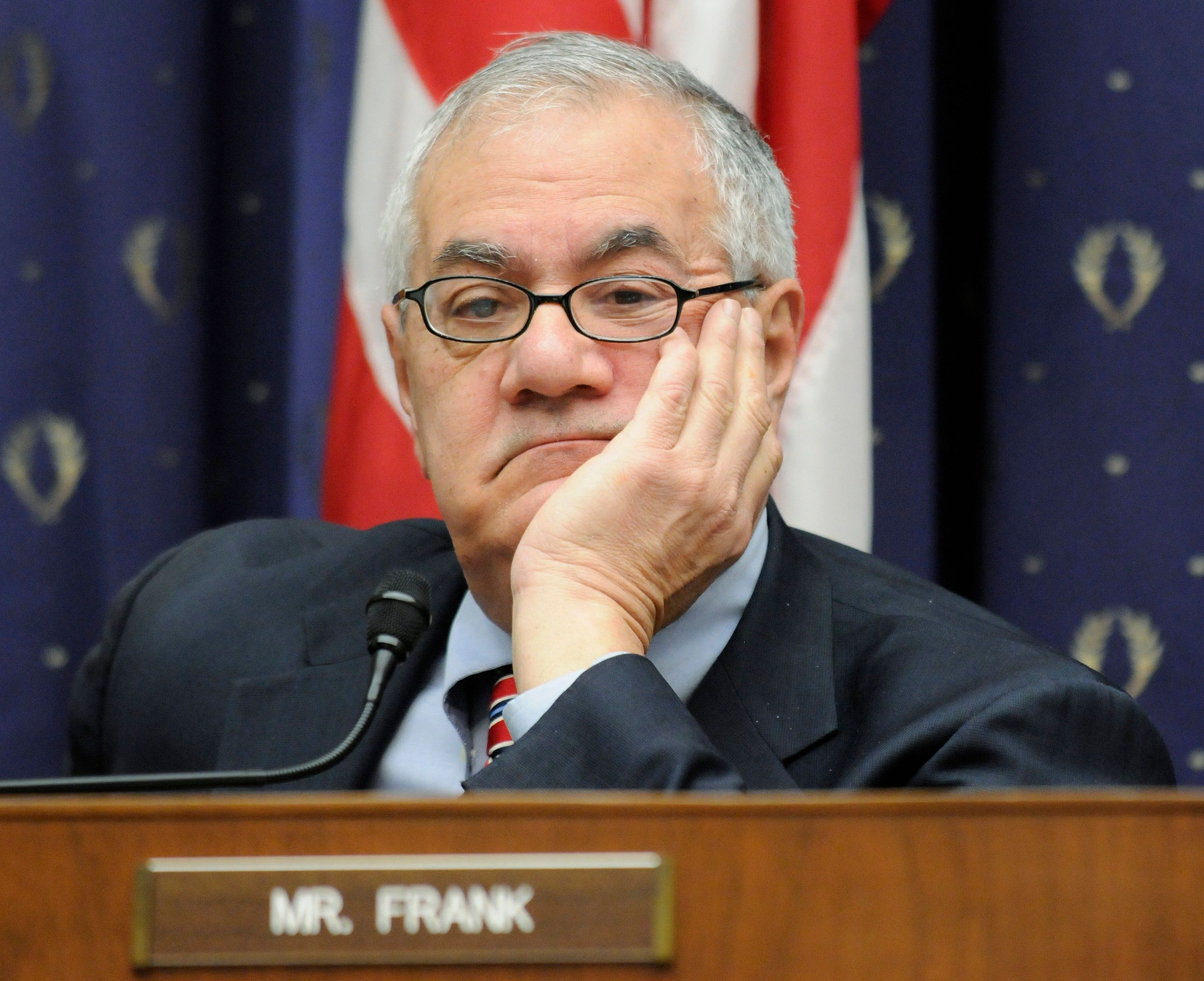 """Former Rep. Barney Frank (D-Mass.) says a number of parties are responsible for""""don't ask, don't tell."""""""