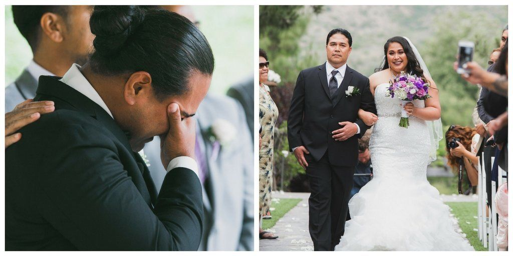 Groom's Reaction To Seeing His Bride Just Might Make You Cry,