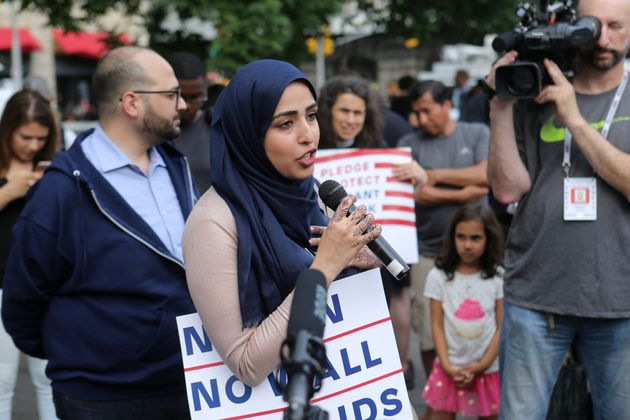 Protesters Want America To Know Trump's Muslim Ban Will Rip Families