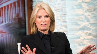 FOR THE RECORD WITH GRETA -- Pictured: (l-r) ? Greta van Susteren appears on the premier episode of 'For the Record with Greta' in Washington, D.C., Monday, January 9, 2017.  (Photo by: William B. Plowman/MSNBC/NBC NewsWire via Getty Images)