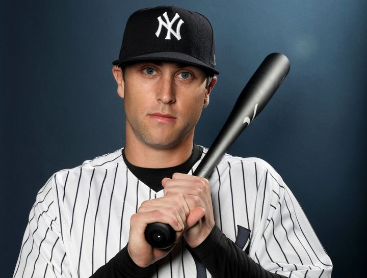 Dustin Fowler poses for a portrait during the New York Yankees photo day on February 21, 2017. Fowler was injured on Thursday