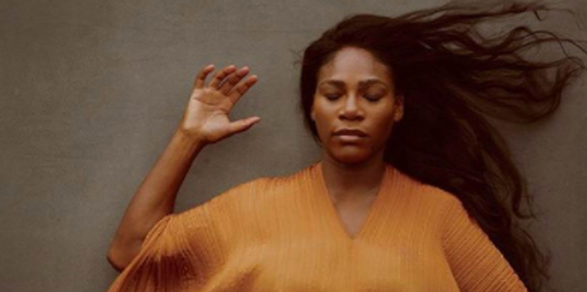 Pregnant Serena Williams Shares More Photos From Vanity