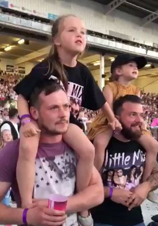 These Dads Had As Much Fun As Their Daughters At This 'Little Mix' Concert
