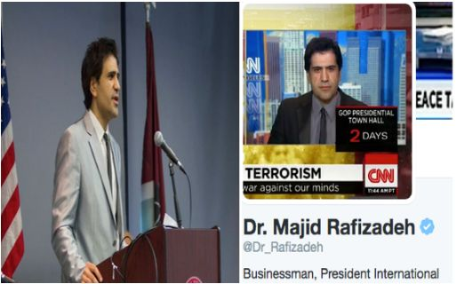<p>Dr. Majid Rafizadeh</p>