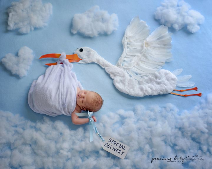 Angela Forker got into newborn photography after her first grandchild was born.