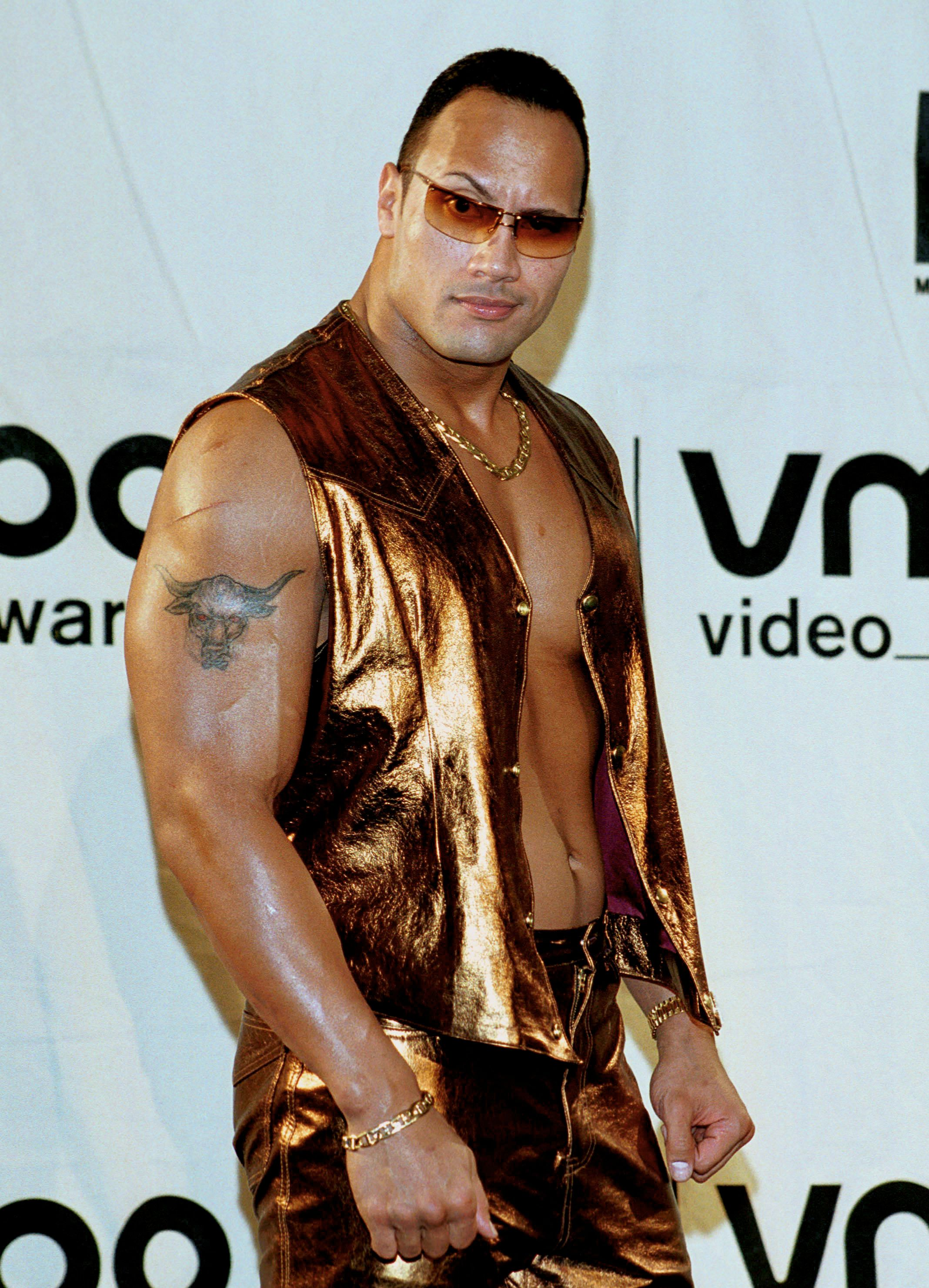 (Original Caption) Dwayne 'The Rock' Johnson. (Photo by Steve Azzara/Corbis via Getty Images)