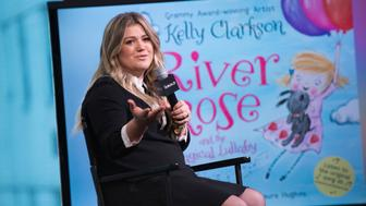 NEW YORK, NY - OCTOBER 04:  Kelly Clarkson attends AOL Build Series to discuss her new book 'River Rose and the Magical Lullaby'  at AOL HQ on October 4, 2016 in New York City.  (Photo by Jenny Anderson/WireImage)
