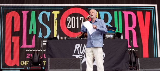 Jeremy Corbyn at