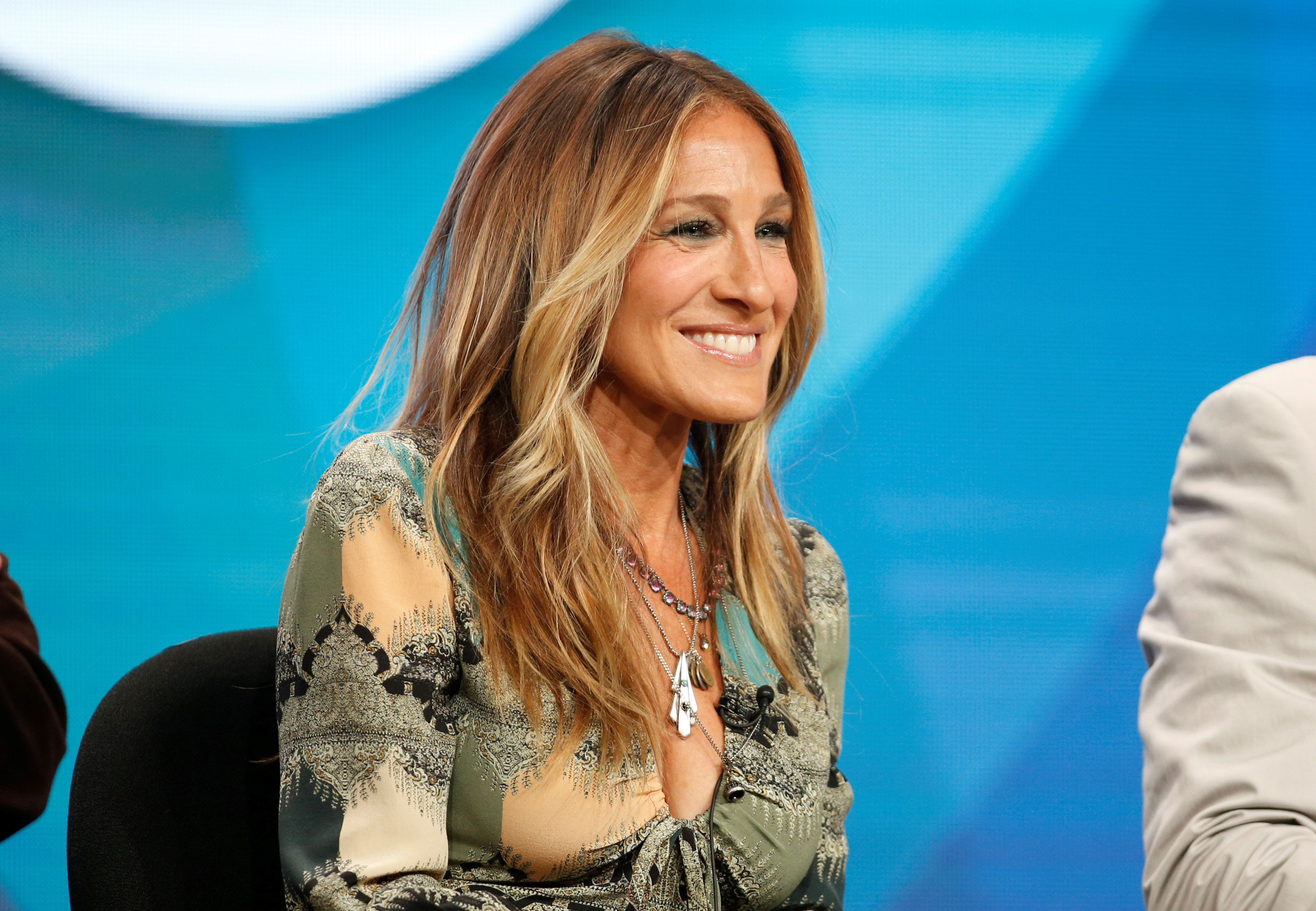 "Executive Producer and cast member Sarah Jessica Parker participates in a panel for the series ""Divorce"" at the HBO Television Critics Association Summer Press Tour in Beverly Hills, California, U.S. July 30, 2016. REUTERS/Danny Moloshok"