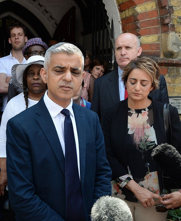<strong>Sadiq Khan has called for the Government to intervene and take over Kensington and Chelsea