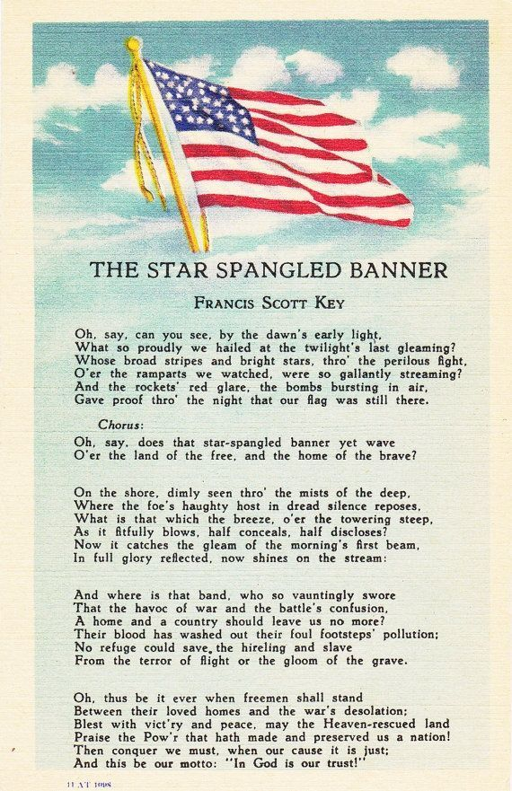 The Star-Spangled Banner, our National Anthem | HuffPost