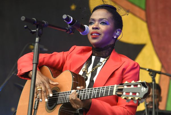 """After releasing her 1998 Grammy Award-winning debut album, """"The Miseducation of Lauryn Hill,"""" Hill stepped away from the lime"""