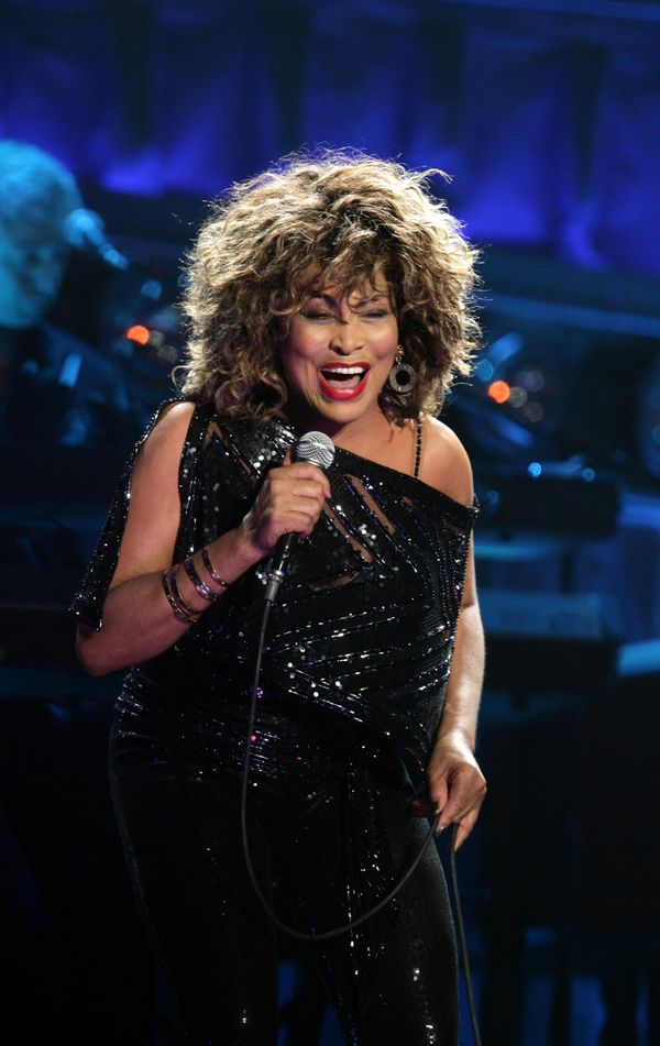 """In 2000, Tina Turner said, """"I've done enough. I've been performing for 44 years. I really should hang up my dancing shoes,"""" a"""