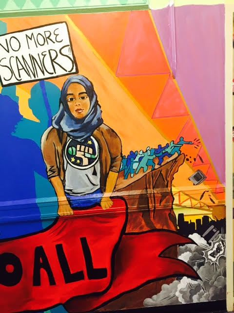 The PSC mural.