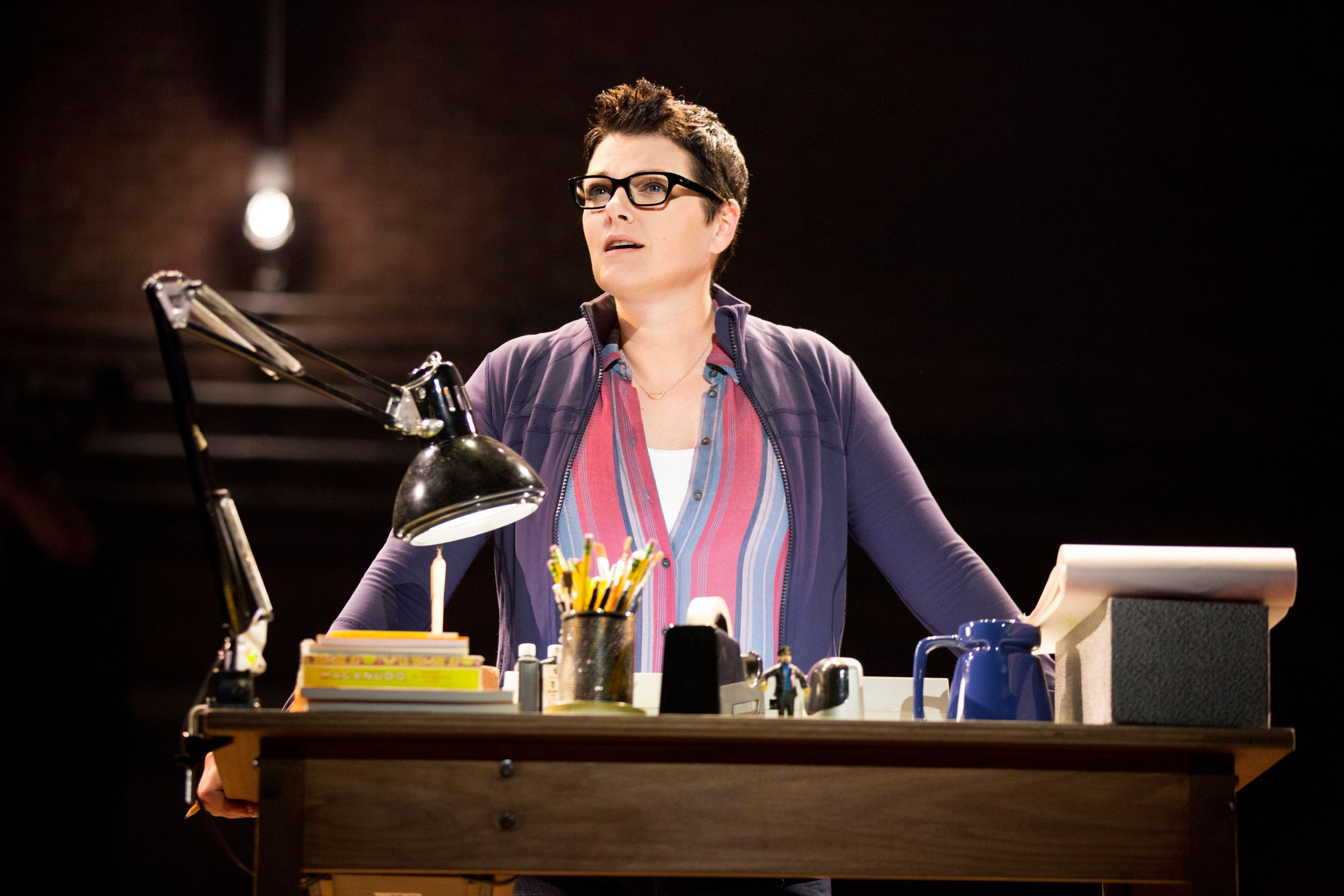 "The casting of Kate Shindle, a former Miss America, as Alison Bechdel in ""Fun Home"" has angered some of the musical's fans.&n"