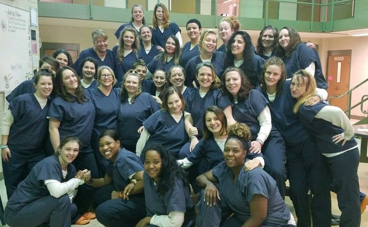 The women of the Chesterfield County Jail's Heroin Addiction Recovery Program (HARP).