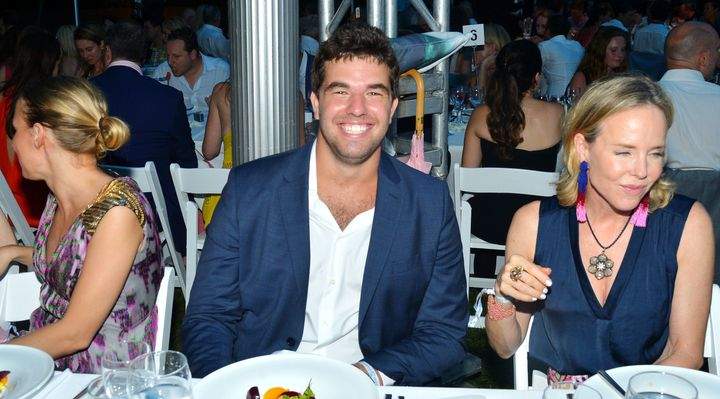 Billy McFarland, shown here at a New York benefit in July 2016. Federal prosecutors accuse him of using fake documents to lure investors into backing his exclusive music festival on a private island.