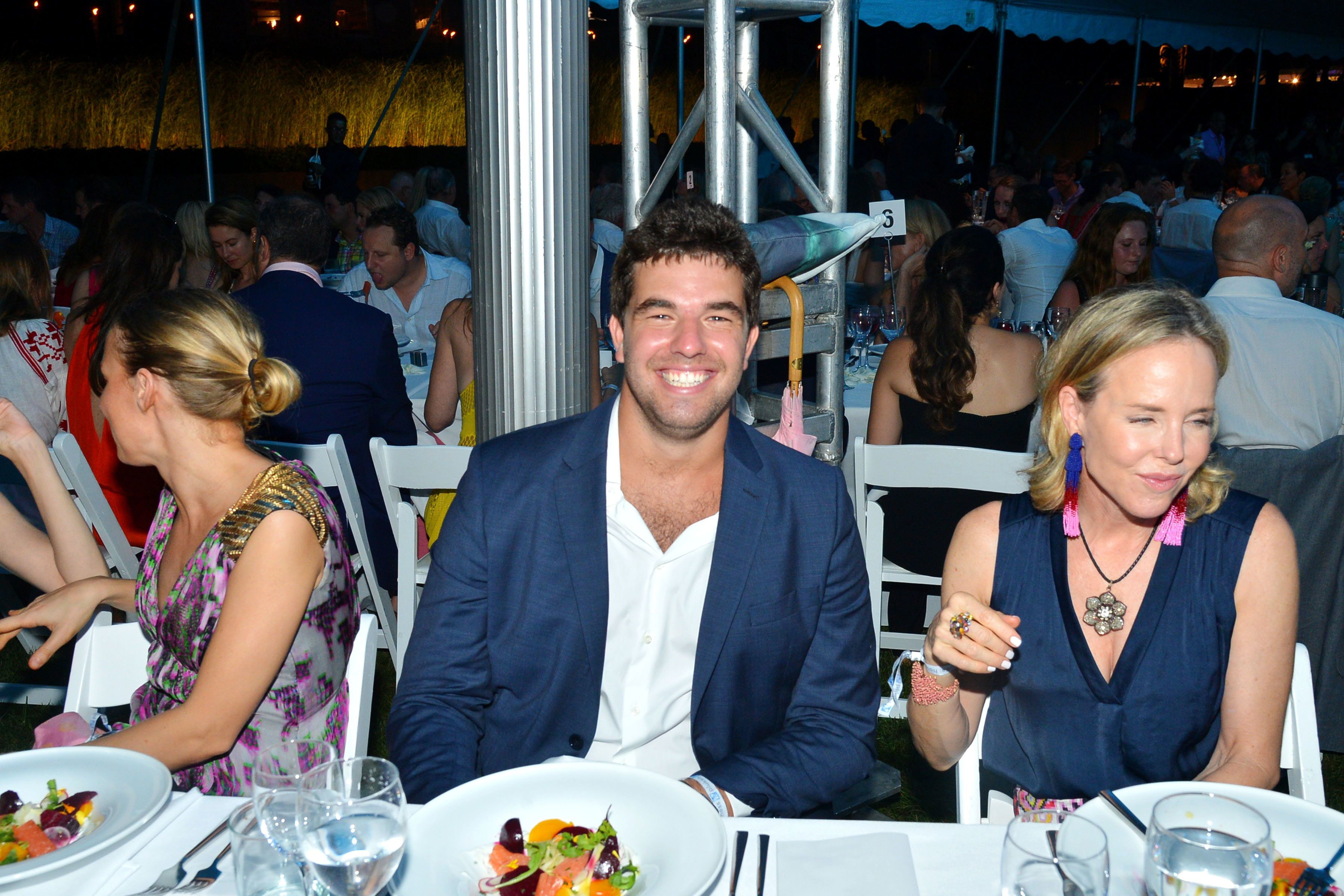 WATER MILL, NY - JULY 30: Billy McFarland and Carol Mac attend The 23rd Annual Watermill Center Summer Benefit & Auction at The Watermill Center on July 30, 2016 in Water Mill, NY. (Photo by Patrick McMullan/Patrick McMullan via Getty Images)