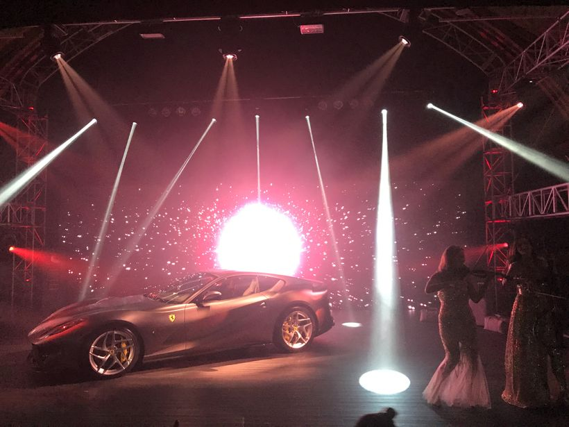 The Ferrari Vip Launch Event Of A Lifetime Huffpost