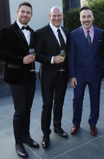 Christopher Glebatsas, Anthony McDonough, David Furnish