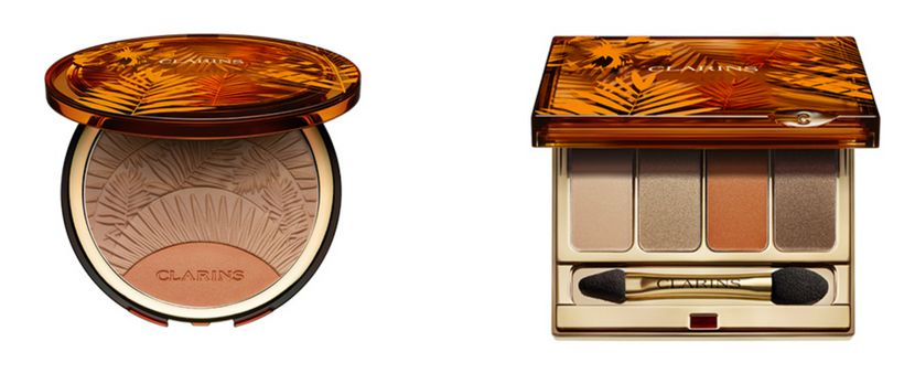 """The <strong>Bronzing & Blush Compact</strong> and <strong>4-Colour Eyeshadow Palette</strong> from <a rel=""""nofollow"""" href"""