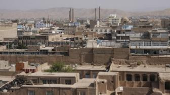 View of old town of Herat in Afghanistan