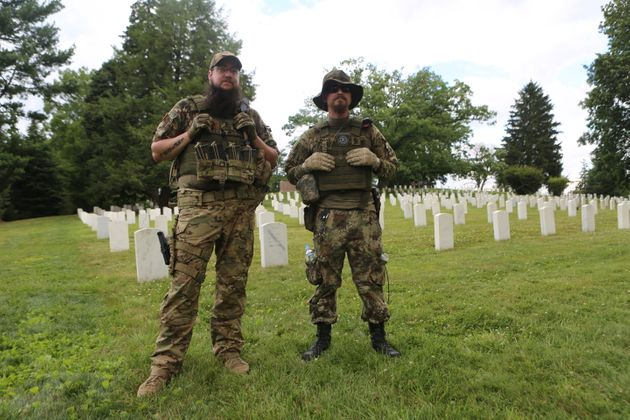 Guns And KKK Members At Gettysburg Confederate Rally, But No Foes To