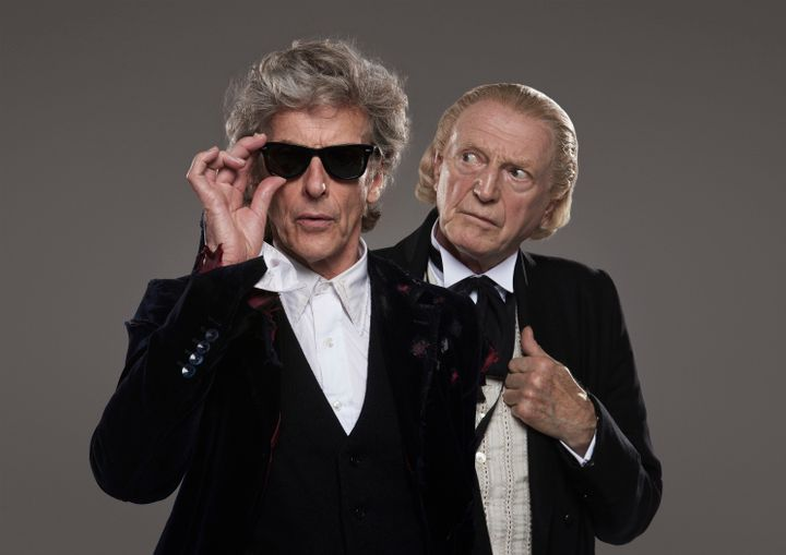 The 12th and first Doctor will star in the Christmas special