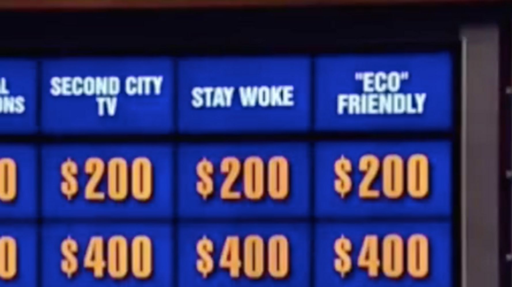 Jeopardy!' Had A 'Stay Woke' Category But It Wasn't What You