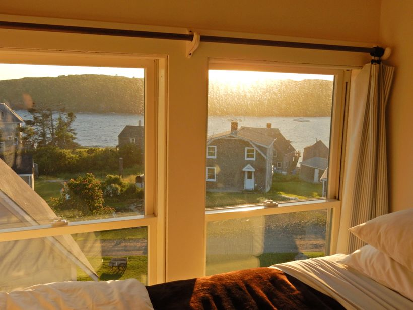 Top floor, twin, Monhegan House, Monhegan Island ME
