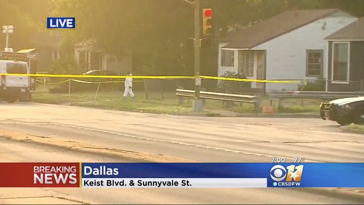 The bodies were found inside this Dallas home late Saturday night, authorities said.