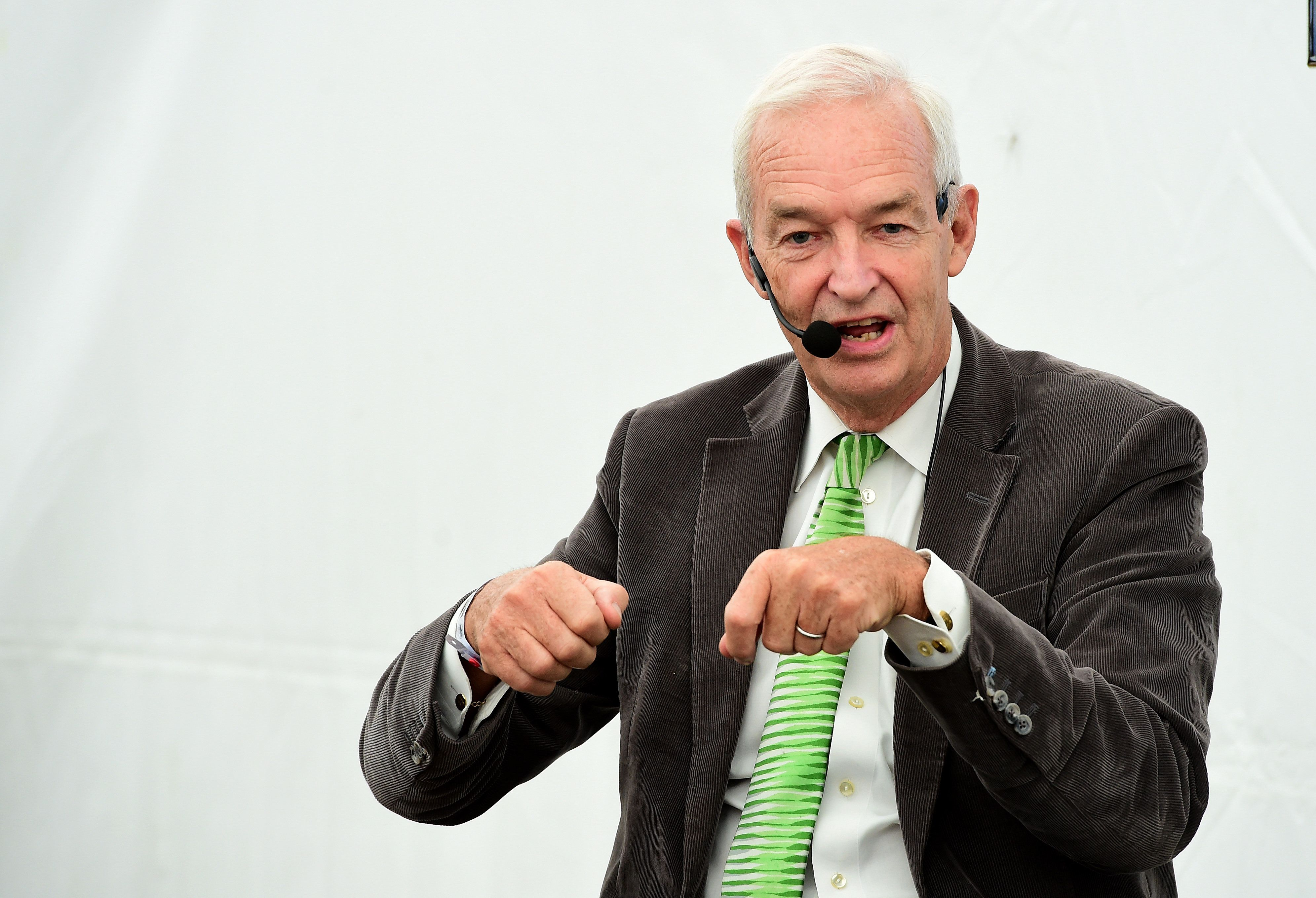 Jon Snow Reprimanded Over Alleged 'F**k The Tories' Chant At
