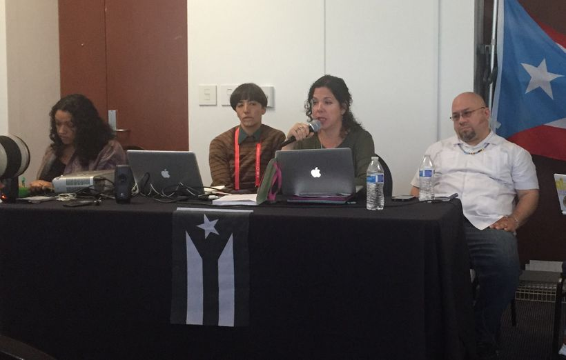Puerto Rico Panel at the 2017 Allied Media Conference in Detroit.