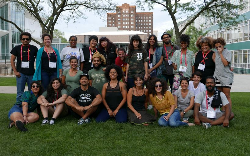 Puerto Ricans from the island and the diaspora get together at Wayne State University in Detroit.