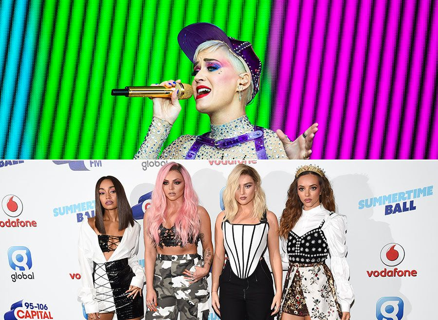 Katy Perry Makes Subtle Dig At Little Mix When Quizzed About Politics In