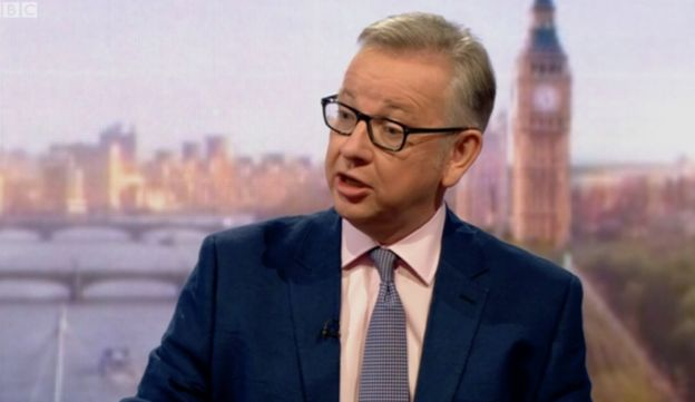 Michael Gove said those who don't go to university should not pay for those who
