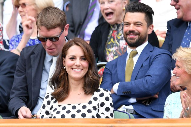 Catherine, Duchess of Cambridge attends the opening day of Wimbledon 2017 on 3 July 2017 in London,