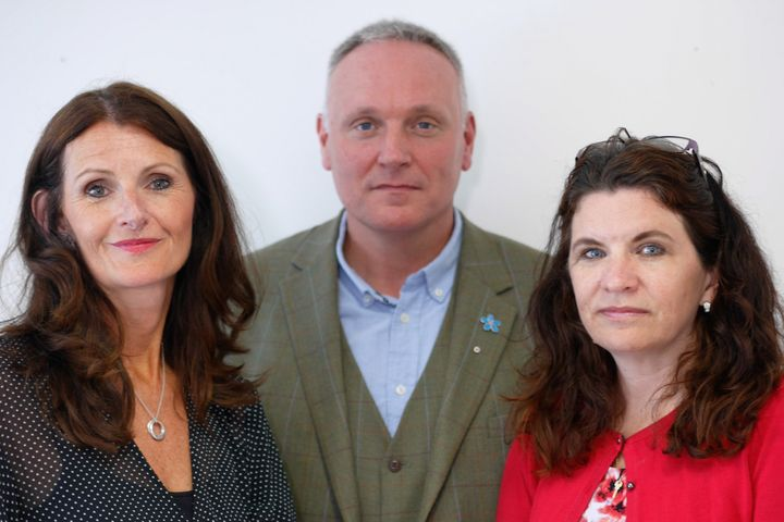 Michelle Bresnahan, Paul Gentryand Julia Styles, (Ailsa Sugrue was unavailable for the photoshoot).