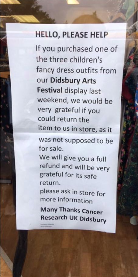 GCSE Student Distraught After Coursework Accidentally Sold In Charity Shop For Just