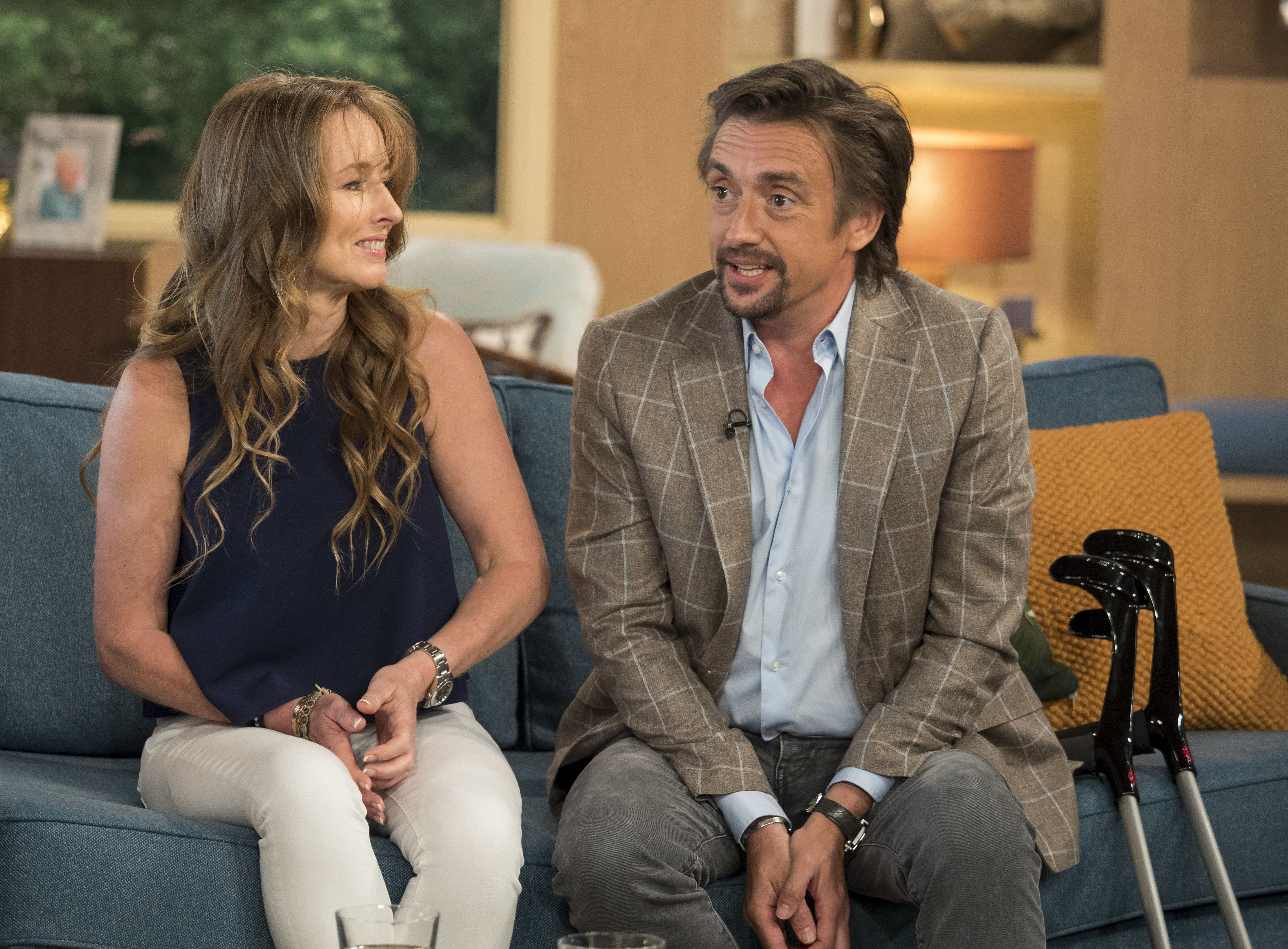 Richard Hammond's Wife Mindy Reveals Her Stern But Simple Advice For The TV Star After Latest