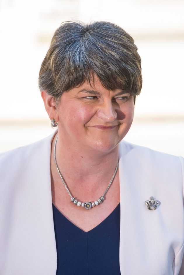 The DUP, led by Arlene Foster, had signed a letter opposing the family cap but has since signed a supply...