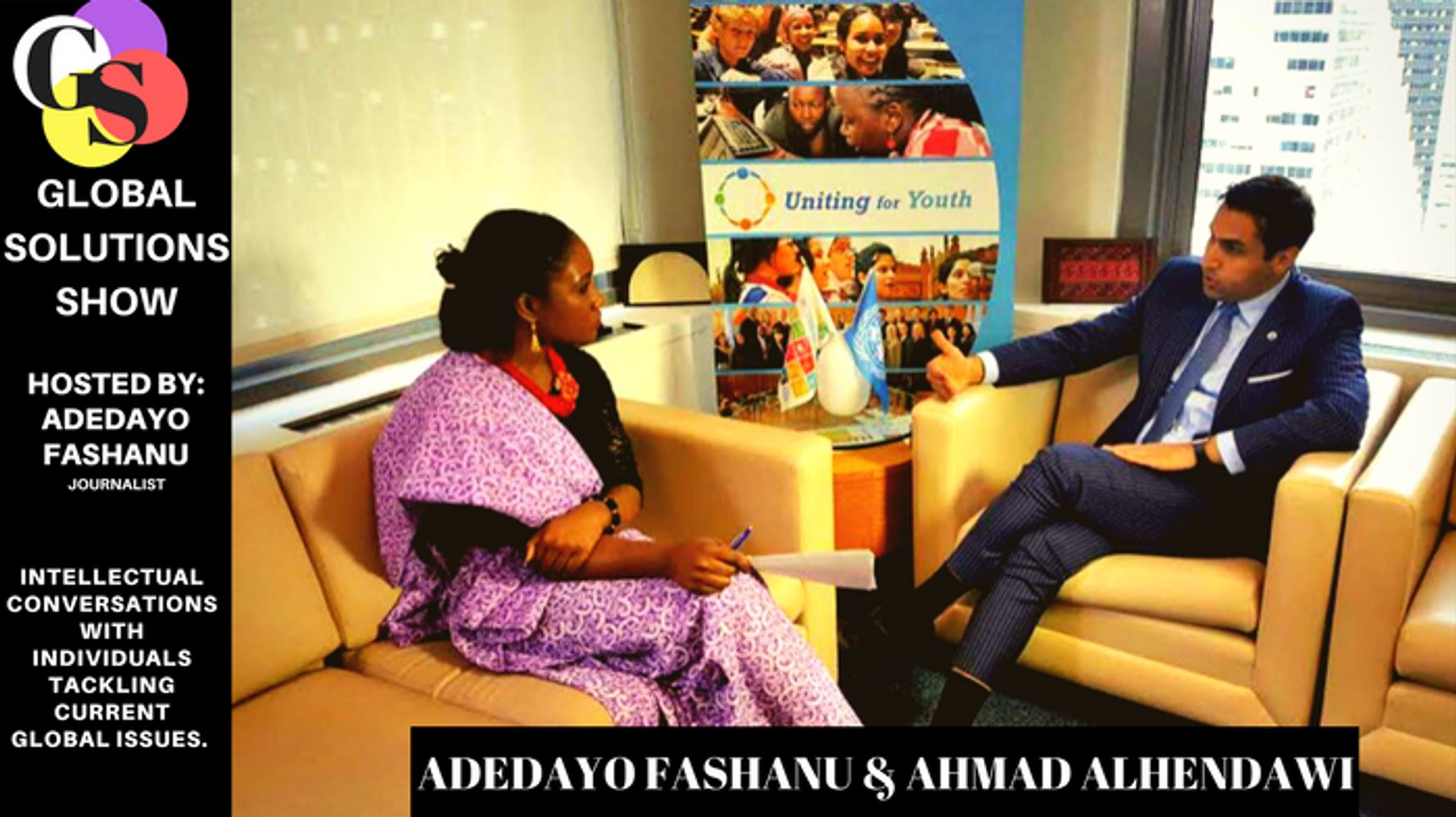 Ahmad Alhendawi global solutions ep1: former united nations youth envoy