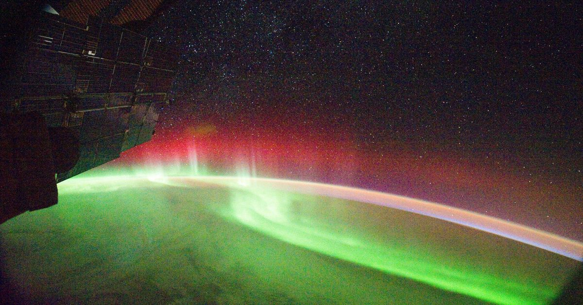 This Video Of The Aurora From The ISS Will Make You Wish You Had Become An Astronaut