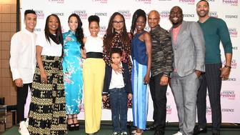 NEW ORLEANS, LA - JULY 01:  Ava DuVernay (C) poses with Omar Dorsey, Timon Kyle Durrett, Ethan Hutchison, Dawn-Lyen Gardner, Bianca Lawson, Tina Lifford and Dondre Whitfield at the 2017 ESSENCE Festival presented by Coca-Cola at Ernest N. Morial Convention Center on July 1, 2017 in New Orleans, Louisiana.  (Photo by Paras Griffin/Getty Images for 2017 ESSENCE Festival )
